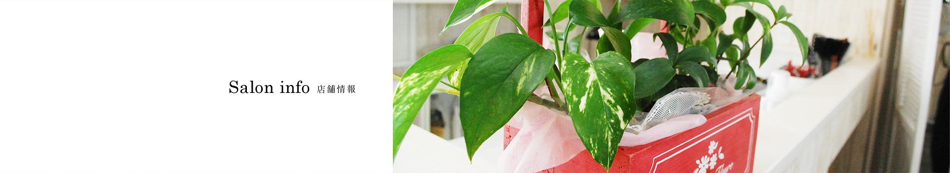 Salon info | 兵庫県丹波市で美容院・ヘアーサロンは落ち着いたカフェ風のailes(エール)